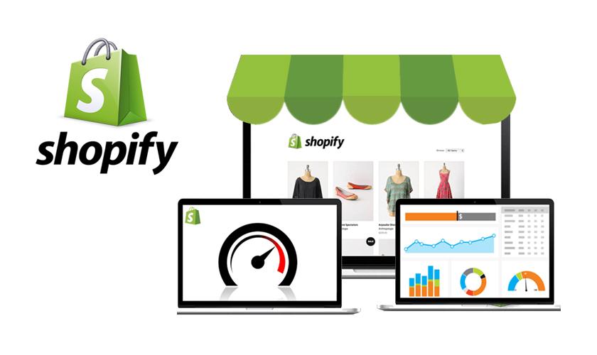 Shopify E-commerce company logo