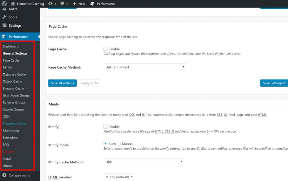 Optimize your Elementor Website